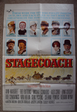 Stagecoach Film Poster -  One Sheet